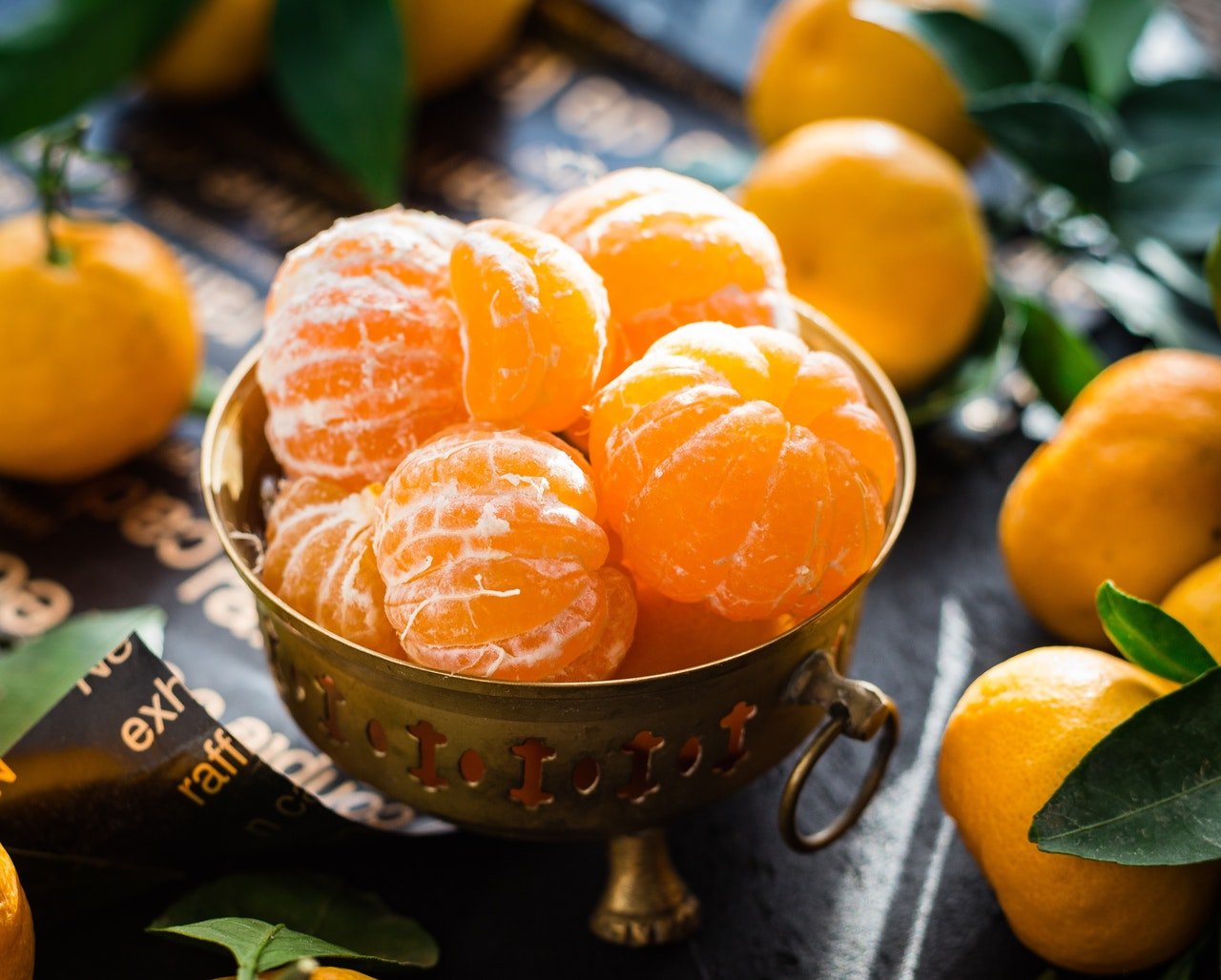 Seasonal food: mandarins